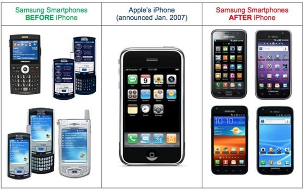 Apple-Samsung Device Designs