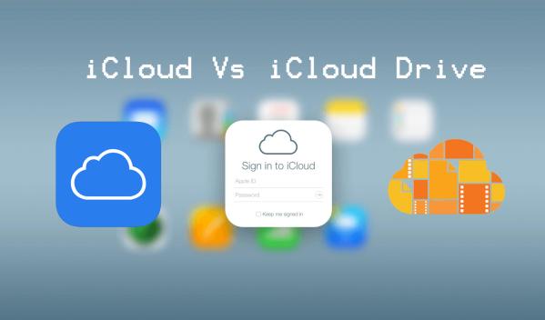 icloud-vs-icloud-drive